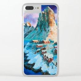 Hamnøy I Lofoten, Nordland, Norway Clear iPhone Case