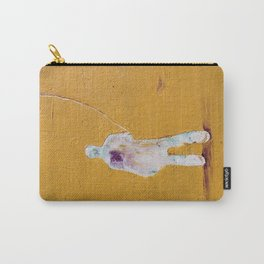 Untitled Man by Nadia J Art Carry-All Pouch