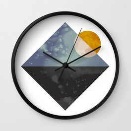 Sea and sun Wall Clock