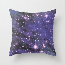 Dark Galaxy Throw Pillow