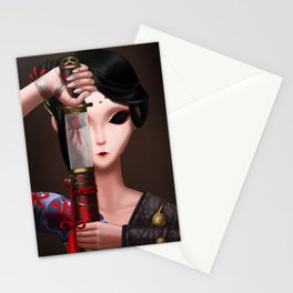 Blood Fan (Identiy V Geisha) Stationery Cards