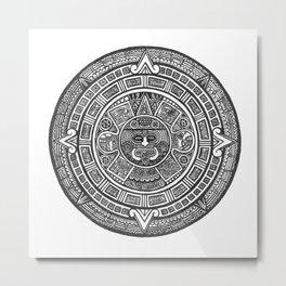 Aztec Roots Metal Print