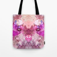 crystal Tote Bags featuring Crystal by Dasha Grishina