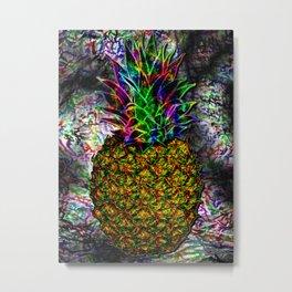 Mystic Pineapple (Original Version) Metal Print