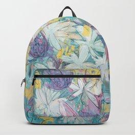 Expressive Spring Floral Backpack