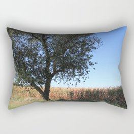 Corn Field in the Midwest Rectangular Pillow