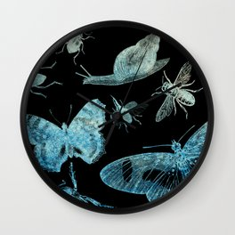 Bugs and Butterflies Wall Clock