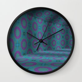 Iconic Hollows 2 Wall Clock