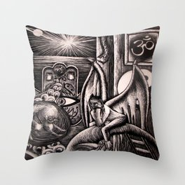 Longed-for Eternity Throw Pillow