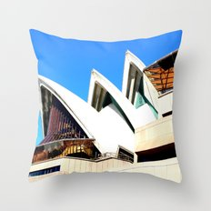 Sydney Opera House 2 Throw Pillow