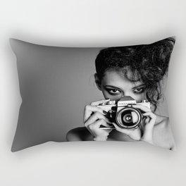 Girls on film Rectangular Pillow