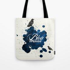 Bleu Corbeau Tote Bag