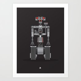 Short Circuit - Johhny 5 Art Print