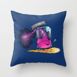 The Cosmic Jam Throw Pillow