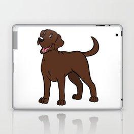Happy Chocolate Lab Laptop & iPad Skin