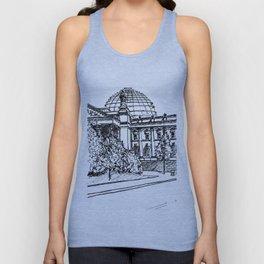 Berlin Reichstag Unisex Tank Top