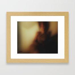 Elision of the Lines Framed Art Print