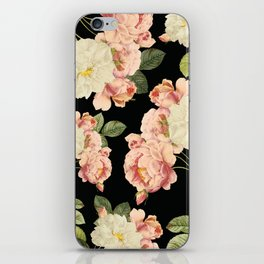 Flora temptation - night iPhone Skin