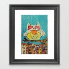 Urban Owl  Framed Art Print