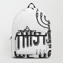 The is how we Jew It | Hanukkah  Backpack