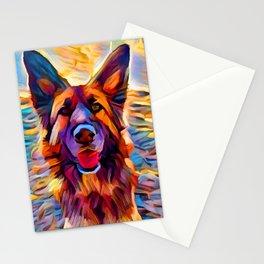 German Shepherd 8 Stationery Cards