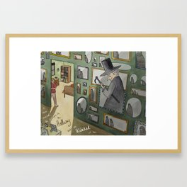 The Winking Walls Framed Art Print
