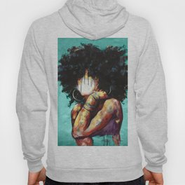 Naturally II TEAL Hoody