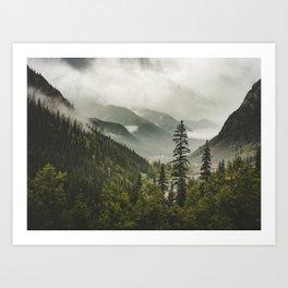Valley of Forever Art Print