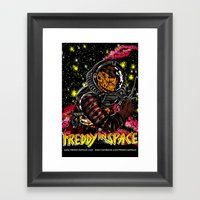 Freddy In Space Framed Art Print