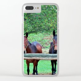 Free Us Clear iPhone Case
