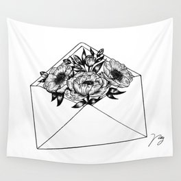 Mailed With Love Wall Tapestry