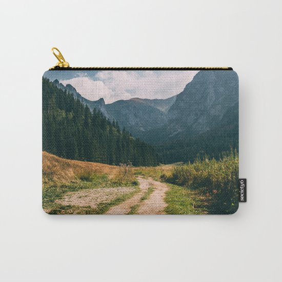 Sunny Mountain Valley Carry-All Pouch