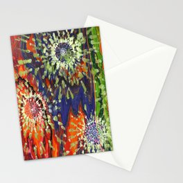 Induced Cosmic Revelations (Four Dreams, In Mutating Cycle) Stationery Cards