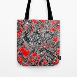 Centipede party Tote Bag