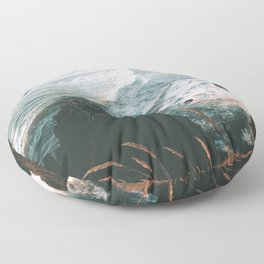 Oregon Coast IV Floor Pillow