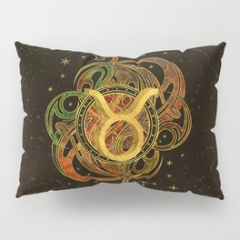 Taurus Zodiac Sign Earth element Pillow Sham