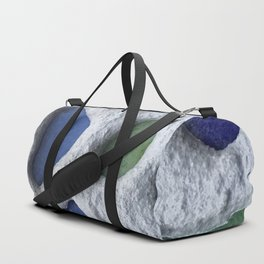 Sea Glass Mosaic Detail Duffle Bag
