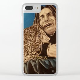 Severus and Lily, oil painting Clear iPhone Case