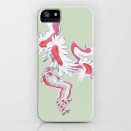 Meadow Dreaming mint iPhone Case