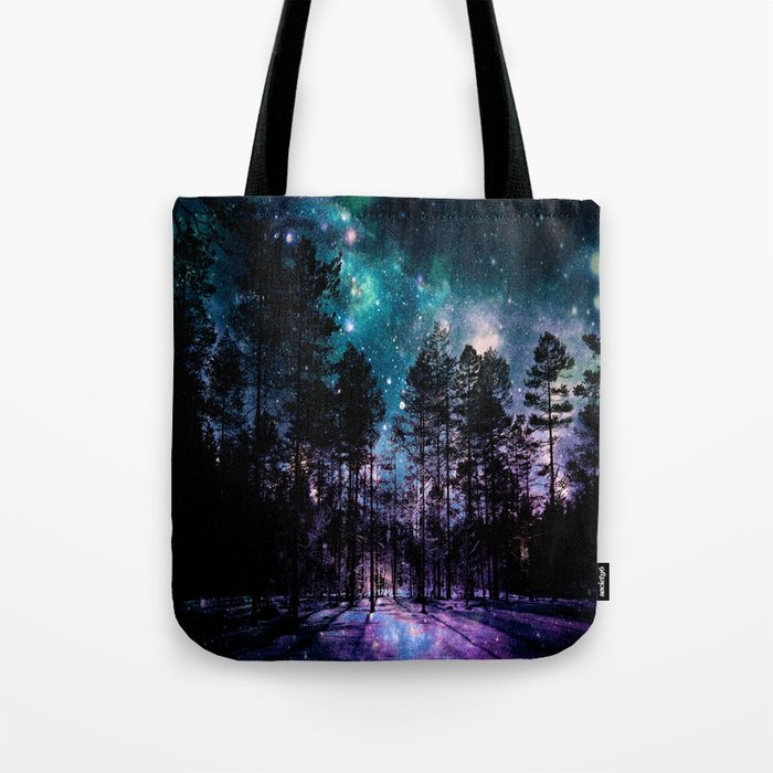 One Magical Night... teal & purple Tote Bag