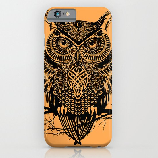 Warrior Owl 2 iPhone & iPod Case
