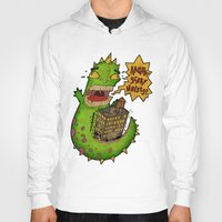 monster Hoodies featuring Monster by Twisted Dredz