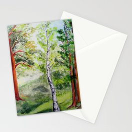 Forest - spring  Stationery Cards