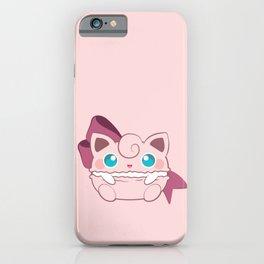 Jiggly macaron iPhone Case