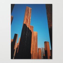 Monument of the 1956 Revolution, Close-up, Budapest Canvas Print