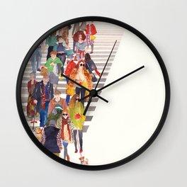 Zebra crossing Wall Clock