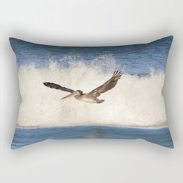 marina pelican Rectangular Pillow
