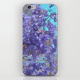 Purple and Blue Party! iPhone Skin