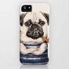 Mr.Pug iPhone (5, 5s) Slim Case