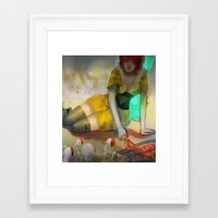 transistor Framed Art Prints featuring Transistor  by Ormille